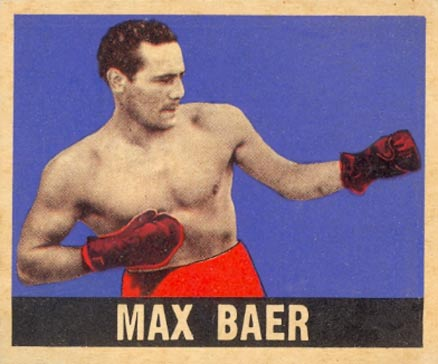 1948 Leaf Boxing Max Baer #93 Boxing & Other Card