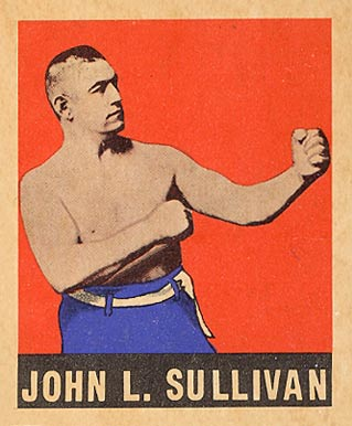 1948 Leaf Boxing John Sullivan #101 Boxing & Other Card