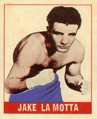 1948 Leaf Boxing Jake LaMotta #102 Boxing & Other Card