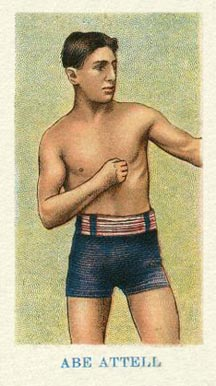 1910 American Caramel Boxing Abe Attell #1 Boxing & Other Card