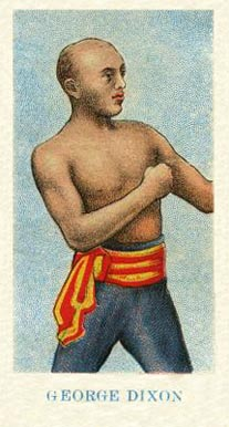 1910 American Caramel Boxing George Dixon #5 Boxing & Other Card