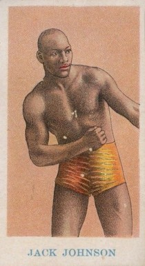 1910 American Caramel Boxing Jack Johnson #10 Boxing & Other Card