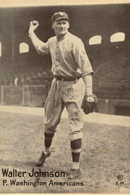 1917-20 M101-6 Walter Johnson