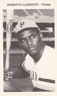 1971 Pittsburgh Pirates Team Issue Roberto Clemente # Baseball Card