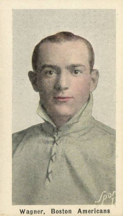 1910 Sporting Life Wagner, Boston Americans #308 Baseball Card