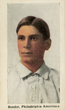 1911 Sporting Life Chief Bender #23 Baseball Card