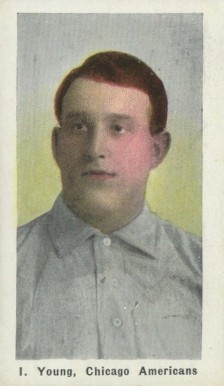1911 Sporting Life Irv Young #325 Baseball Card
