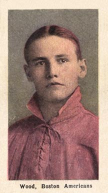 1911 Sporting Life Joe Wood #321 Baseball Card