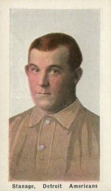 1911 Sporting Life Oscar Stanage #279 Baseball Card