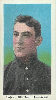 1911 Sporting Life Lajoie, Cleveland Americans #164 Baseball Card