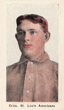 1911 Sporting Life Criss, St. Louis Americans #69 Baseball Card