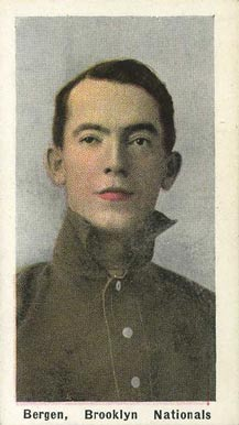 1911 Sporting Life Bill Bergen #24 Baseball Card