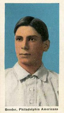 1911 Sporting Life Chief Bender #22 Baseball Card