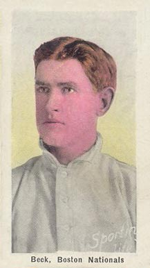 1911 Sporting Life Fred Beck #17 Baseball Card