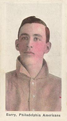 1911 Sporting Life Jack Barry #14 Baseball Card