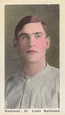 1911 Sporting Life Les Backman #9 Baseball Card