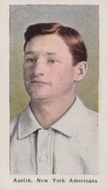 1911 Sporting Life Jimmy Austin #8 Baseball Card