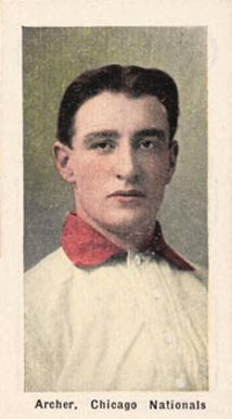 1911 Sporting Life Jimmy Archer #5 Baseball Card