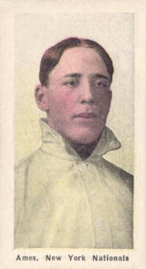 1911 Sporting Life Red Ames #4 Baseball Card