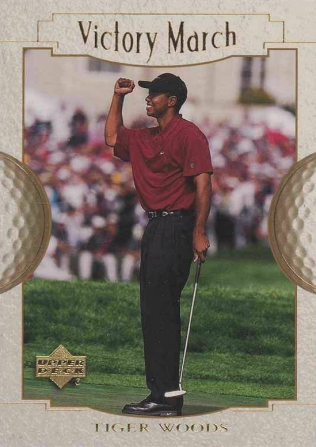 2001 Upper Deck Golf Tiger Woods #151 Boxing & Other Card