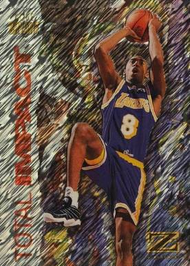 1997 Skybox Z-Force Total Impact Kobe Bryant #1 Basketball Card