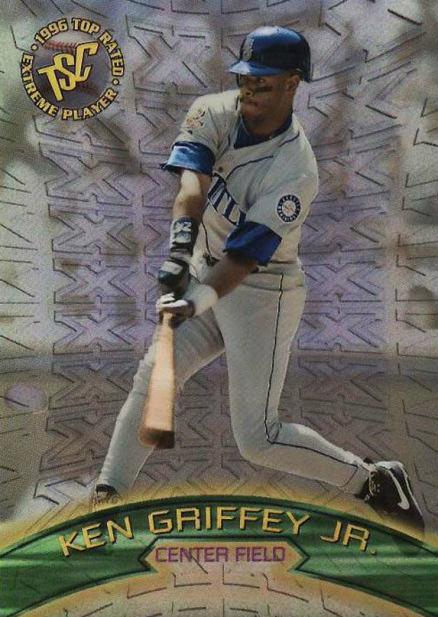 1996 Stadium Club Extreme Winners Silver Ken Griffey Jr. #8 Baseball Card