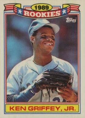 Ken Griffey Jr Hall Of Fame Baseball Cards