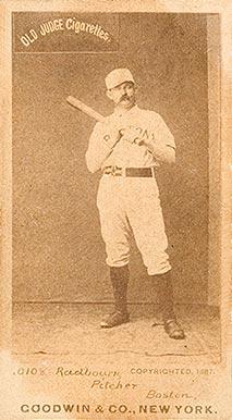 Old Hoss Radbourn Hall Of Fame Baseball Cards