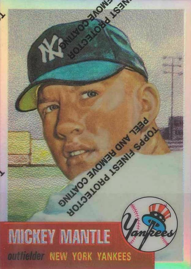 1996 Topps Mickey Mantle Reprints Mickey Mantle #3 Baseball Card