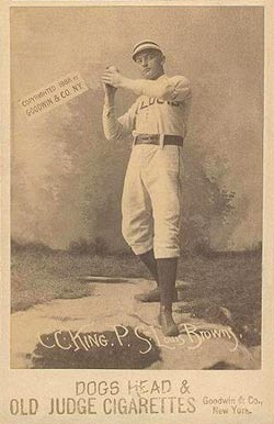 1888 Old Judge Cabinets Cc King P St Louis Browns 267 2