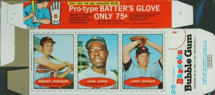 Brooks Robinson 1992 Front Row All Time Greats Hall of Fame Set of 5