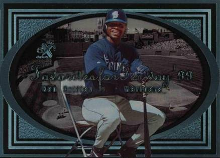 1999 Skybox E-X Century Favorites for Fenway Ken Griffey Jr. #4 Baseball Card