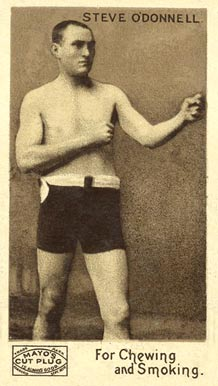 1890 Mayo Cut Plug Boxing Steve O'Donnell #26 Boxing & Other Card