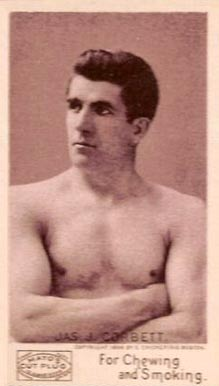 1890 Mayo Cut Plug Boxing Young Corbett #4 Boxing & Other Card