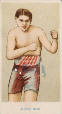 1910 American Caramel Boxers Blue Back Terry McGovern #13 Boxing & Other Card