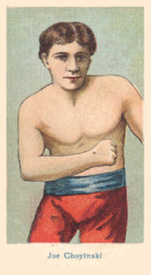1910 American Caramel Boxers Blue Back Joe Choynski #2 Boxing & Other Card