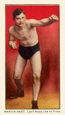 1910 Philadelphia 27 Scrappers Boxing Marvin Hart #8 Boxing & Other Card