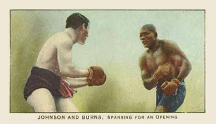 1910 Philadelphia 27 Scrappers Boxing Jack Johnson #12 Boxing & Other Card