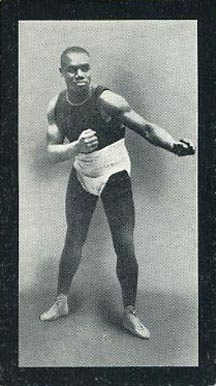 1912 Cohen Weenan & Co. Famous Boxers Green Back Sam Langford #12 Boxing & Other Card