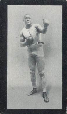 1912 Cohen Weenan & Co. Famous Boxers Green Back Jack Johnson #18 Boxing & Other Card
