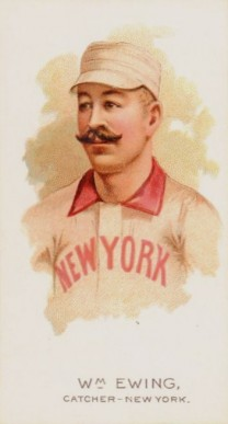 1889 Allen & Ginter Buck Ewing #16 Baseball Card