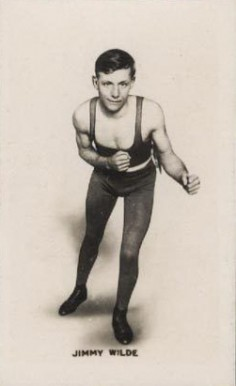 1923 Union Jack Monarchs of the Ring Boxing Jimmy Wilde #1 Boxing & Other Card