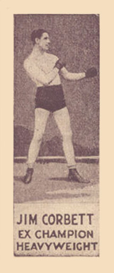1923 Williards Chocolate James Corbett #8 Boxing & Other Card