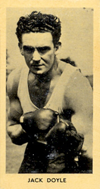 1938 F.C. Cartledge Boxing Jack Doyle #50 Boxing & Other Card