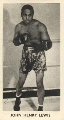 1938 F.C. Cartledge Boxing John Lewis #48 Boxing & Other Card
