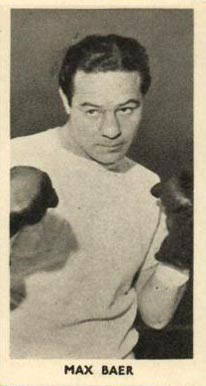 1938 F.C. Cartledge Boxing Max Baer #46 Boxing & Other Card