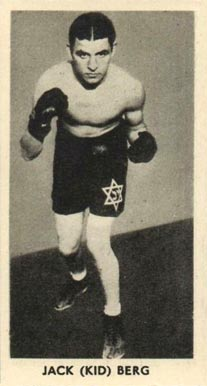 1938 F.C. Cartledge Boxing Kid Berg #43 Boxing & Other Card