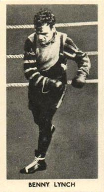 1938 F.C. Cartledge Boxing Benny Lynch #41 Boxing & Other Card