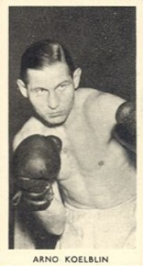 1938 F.C. Cartledge Boxing Arno Koelblin #34 Boxing & Other Card