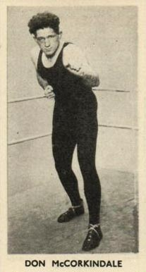 1938 F.C. Cartledge Boxing Don McCorkindale #33 Boxing & Other Card